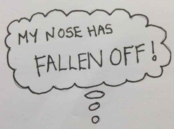 fallen off